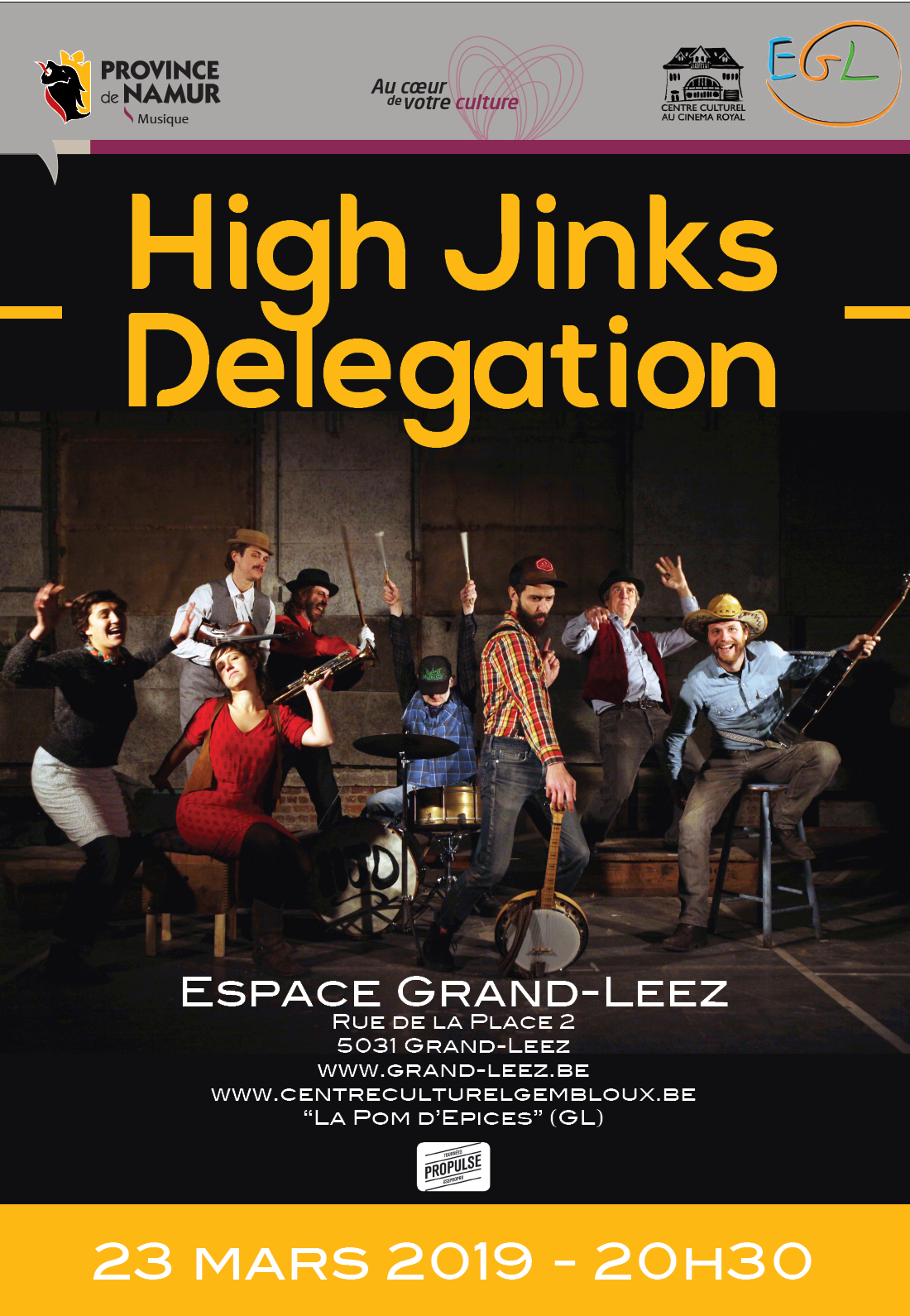 High Jinks Delegation